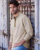 Weatherproof Vintage Marled Quarter-Zip Sweatshirt 198775