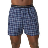 Hanes Men's Red Label Exposed Elastic Waistband Boxer P2 841VTY