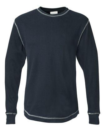 J. America Vintage Thermal Long Sleeve T-Shirt 8238